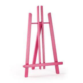 "Pink Colour Easel Kent 20"" - Beech Wood"